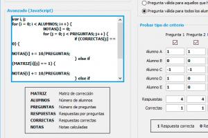 Sistemas de calificación utilizados en GEXCAT