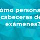 Cabeceras personalizadas de exámenes