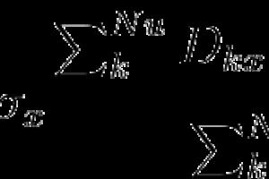 Fórmulas y caracteres especiales en GEXCAT